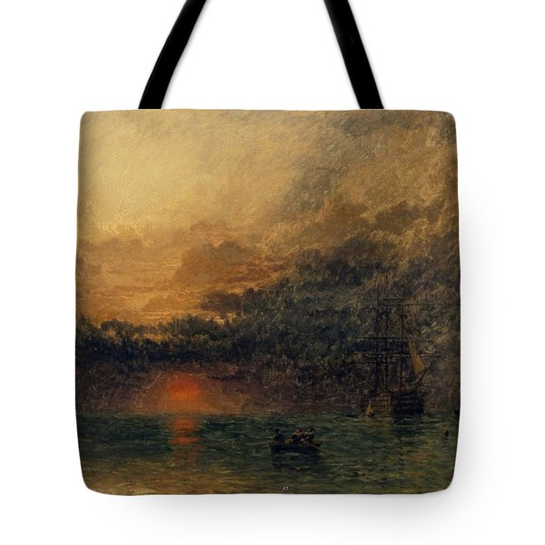 Before The Storm Tote Bag by Henry Dawson