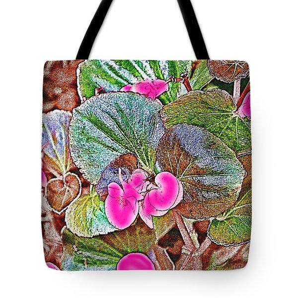 Begonia Tote Bag by EricaMaxine  Price