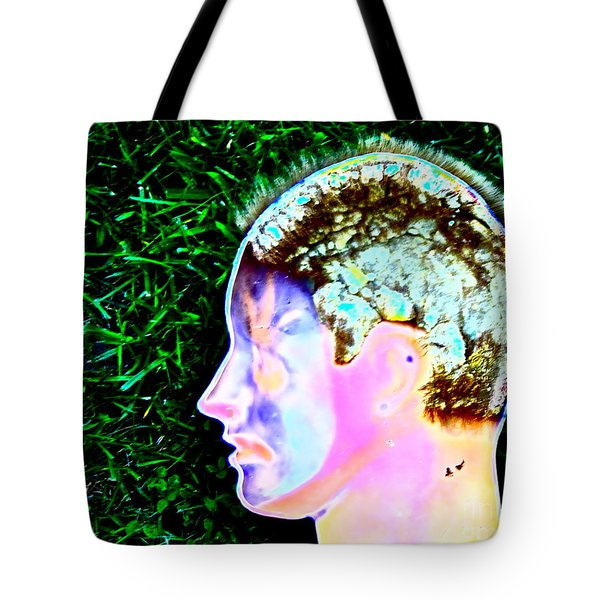 Tote Bag featuring the photograph Being Of Light by Xn Tyler