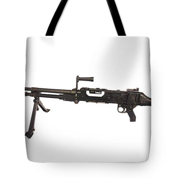 Belgian Fn Mag 7.62mm General Purpose Tote Bag by Andrew Chittock