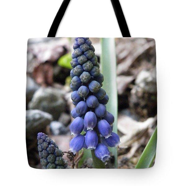 Bell Flowers Tote Bag