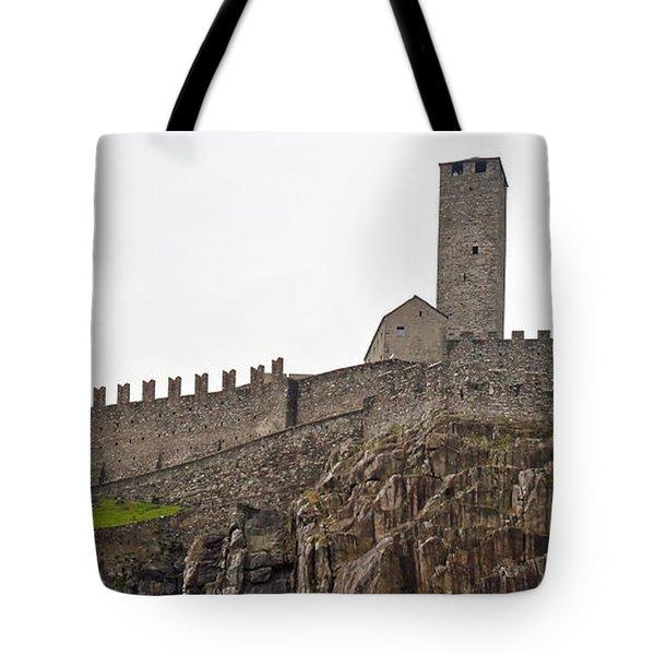 Bellinzona - Ticino Tote Bag by Joana Kruse