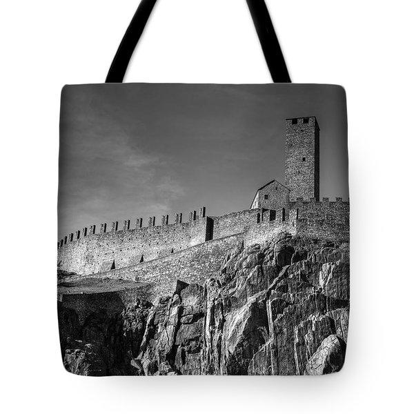 Bellinzona Switzerland Castelgrande Tote Bag by Joana Kruse