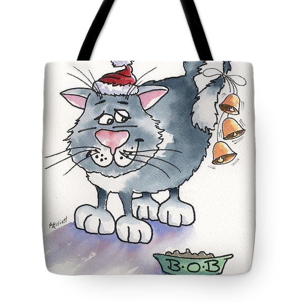 Bells On Bobs Tail Ring Tote Bag by Marsha Elliott