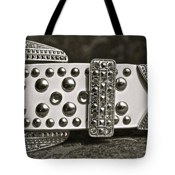Belt Bling Tote Bag by Gwyn Newcombe