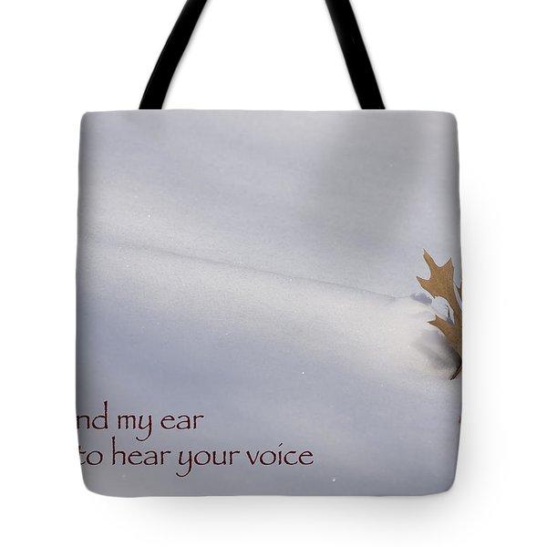 Bend My Ear Tote Bag