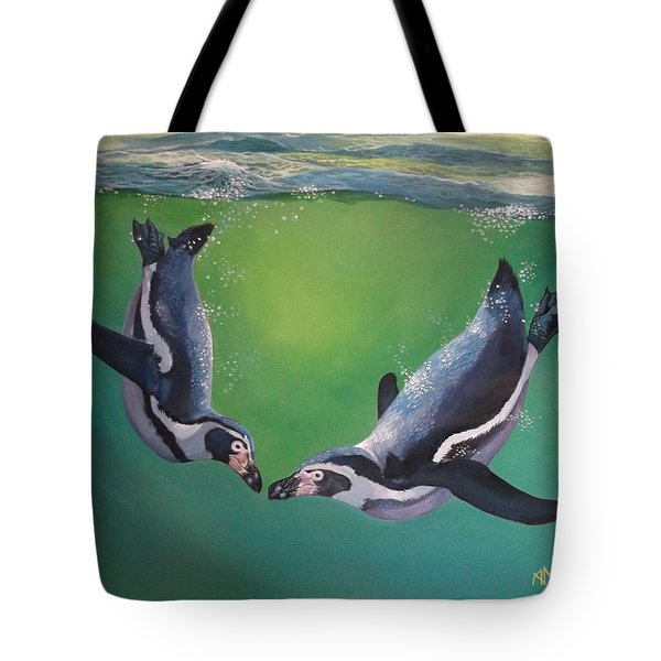 Beneath The Waves Tote Bag