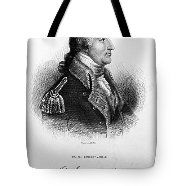 Benedict Arnold, American Traitor Tote Bag by Omikron