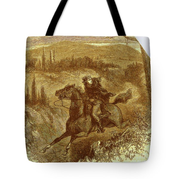 Benedict Arnold, American Traitor Tote Bag by Photo Researchers