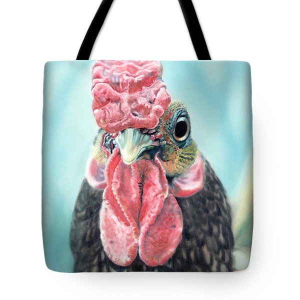 Benny The Bantam Tote Bag by Baron Dixon