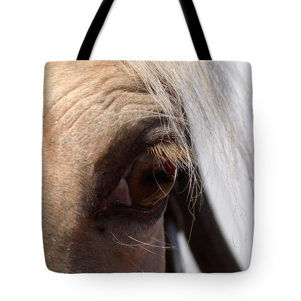 Benson Mule Days Tote Bag by Travis Truelove