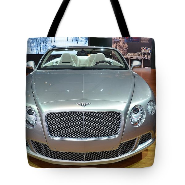 Bentley Starting Price Just Below 200 000 Tote Bag by Randy J Heath