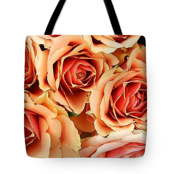 Tote Bag featuring the photograph Bergen Roses by KG Thienemann