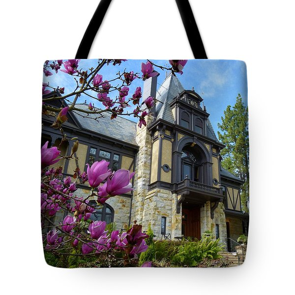 Beringer Family Mansion Tote Bag