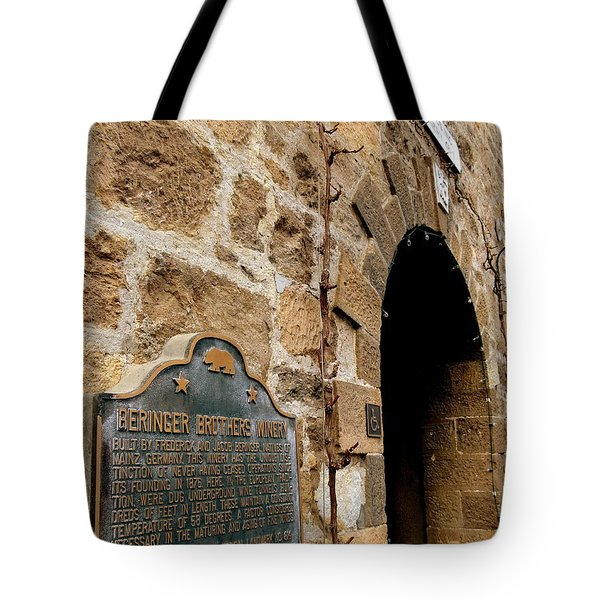 Beringer Winery  Tote Bag