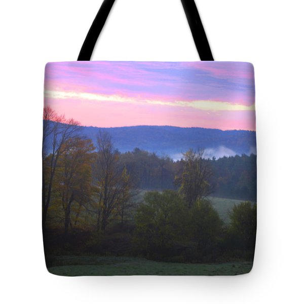 Berkshires Sunrise Tote Bag by Todd Breitling