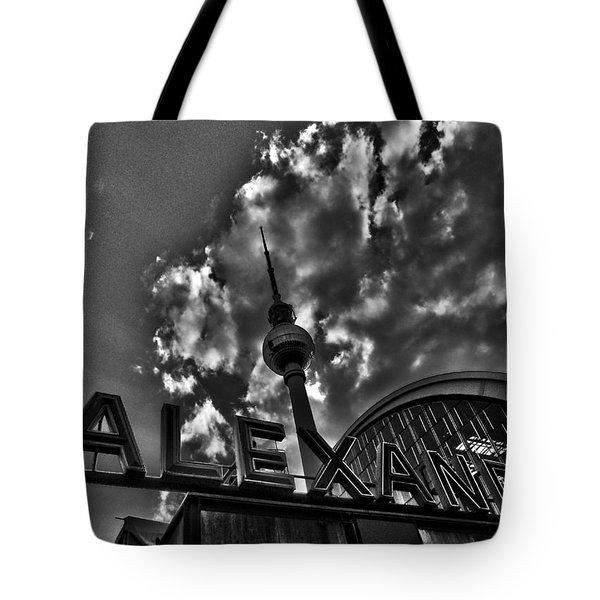 Berlin Alexanderplatz Tote Bag by Juergen Weiss