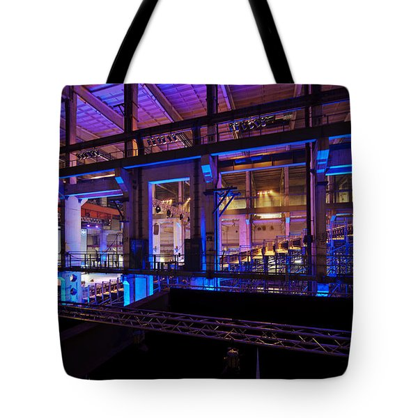 Berlin Powerhouse Event Tote Bag by Mike Reid