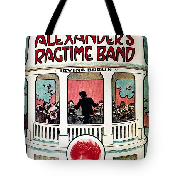 Berlin: Ragtime Band, 1911 Tote Bag by Granger