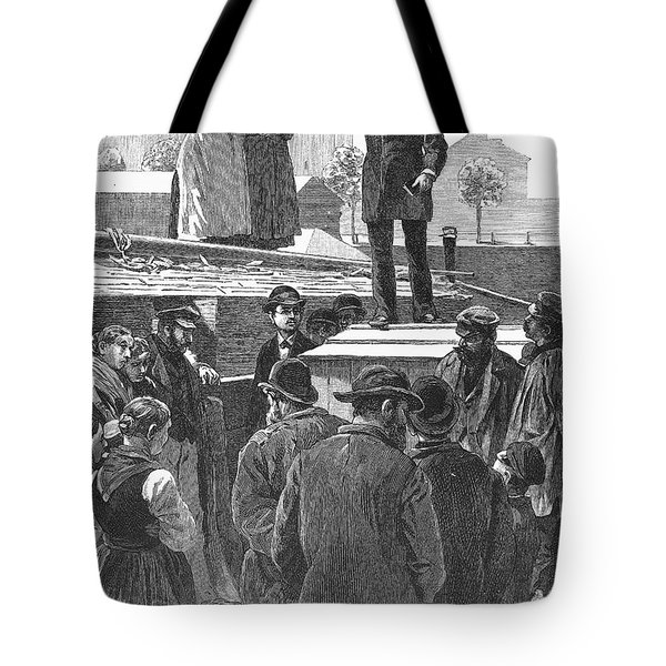 Berlin: Sermon On Barge Tote Bag by Granger
