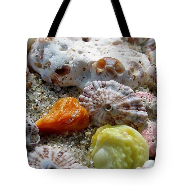 Bermuda Beach Shells Tote Bag