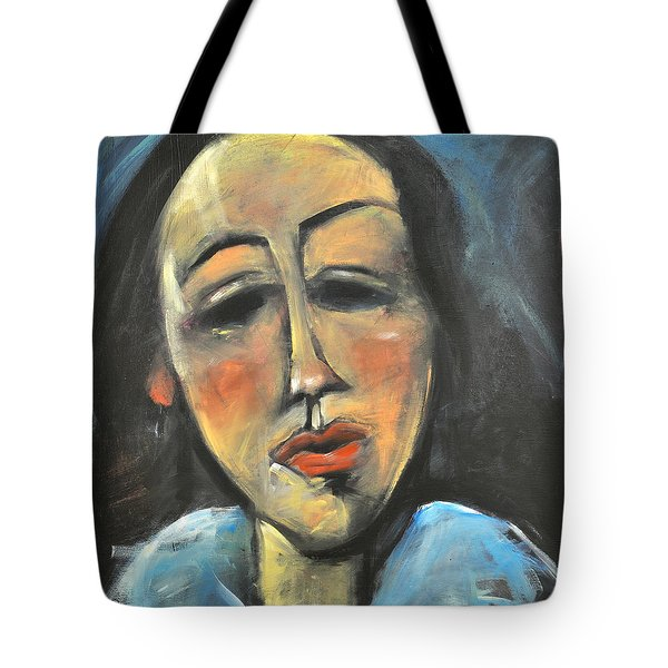 Berthe Lipchitz Revisited Tote Bag by Tim Nyberg