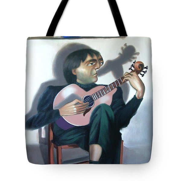 Beside Myself Tote Bag by Anthony Falbo