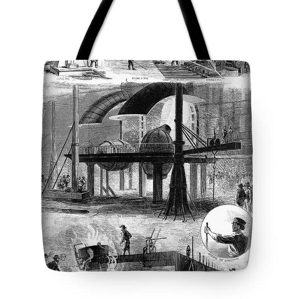 Bessemer Steel, 1876 Tote Bag by Granger