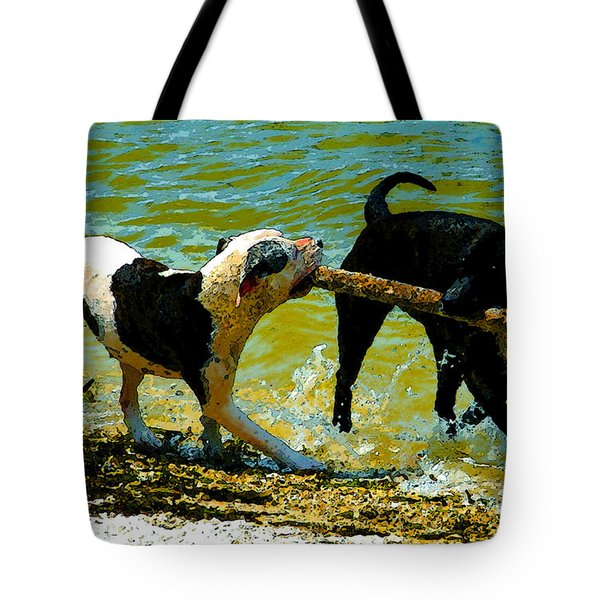 Best Friends Tote Bag by David Lee Thompson