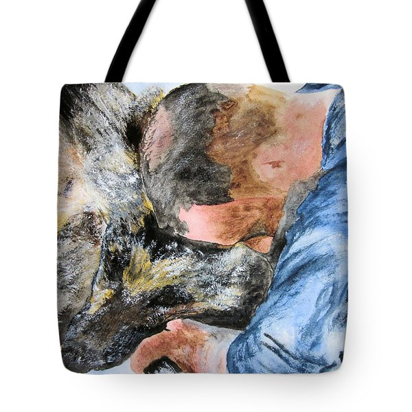 Best Friends-watercolor Study Tote Bag