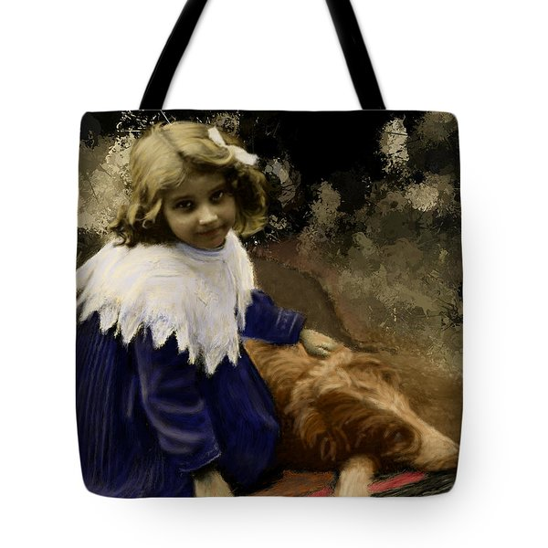 Best Of Friends Tote Bag by Arne Hansen