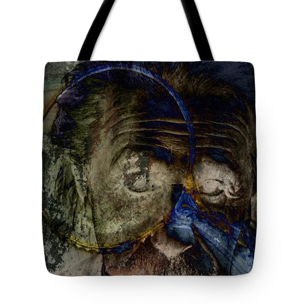 Between The Lens  Tote Bag by Empty Wall
