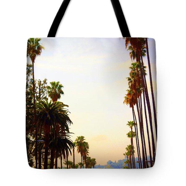 Beverly Hills In La Tote Bag by Susanne Van Hulst