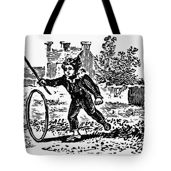 Bewick: Boy With Hoop Tote Bag by Granger
