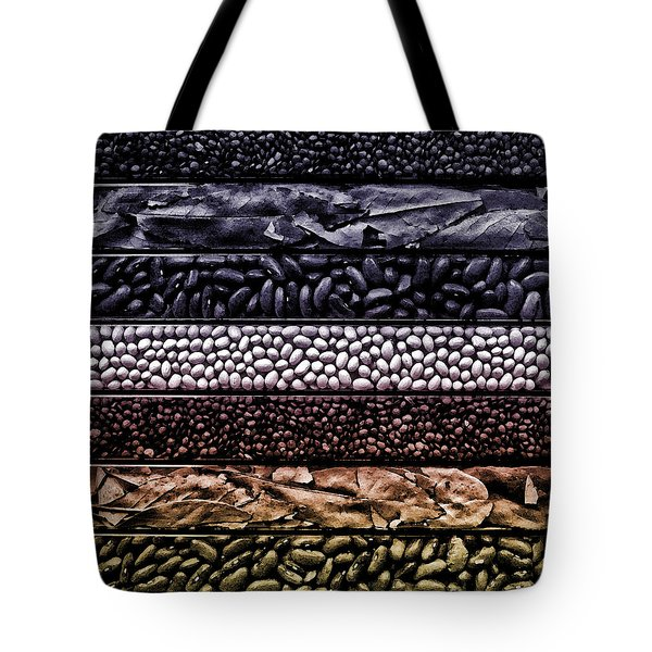 Beyond The Bean Seed Tote Bag by Danuta Bennett