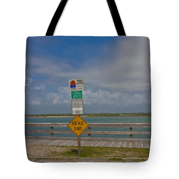 Beyond The End Tote Bag by Betsy Knapp