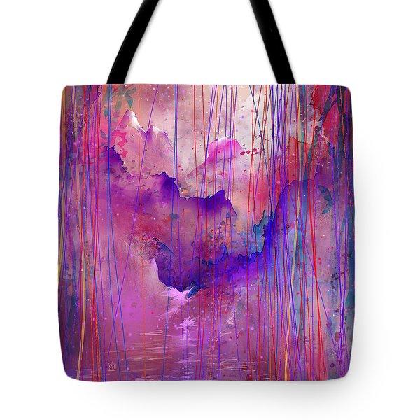 Beyond The Tears Tote Bag by Rachel Christine Nowicki