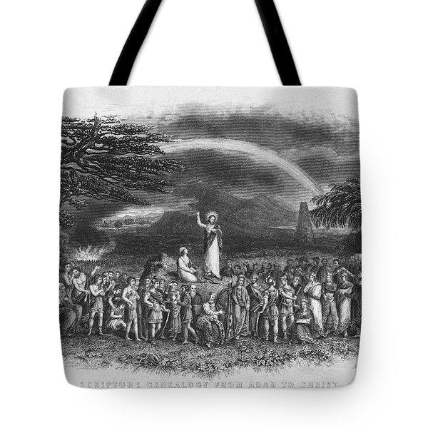 Bible: Jesus, 1833 Tote Bag by Granger