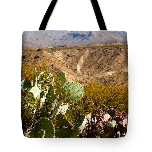 Big Bend Tote Bag