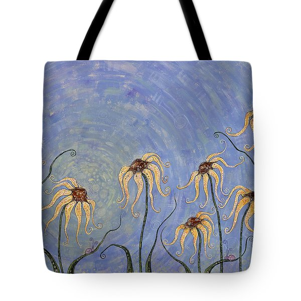 Big Blue Sky Tote Bag by Tanielle Childers