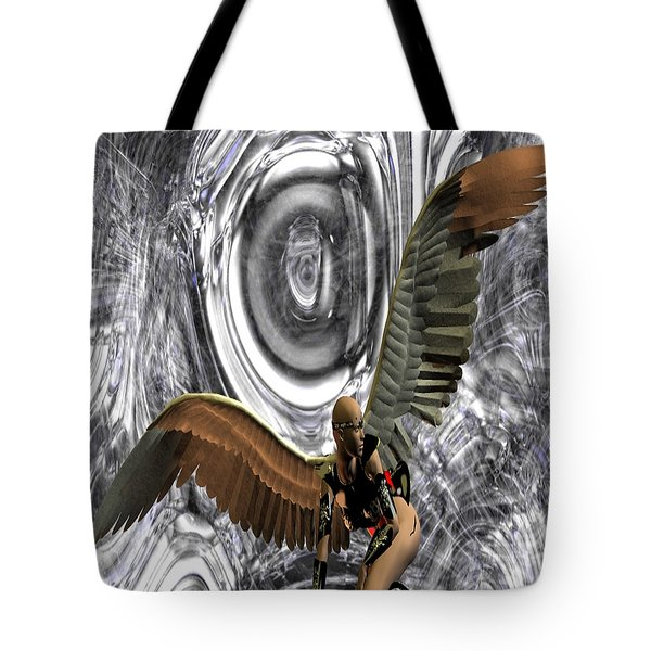 Big Brother Is Watching You Tote Bag by Matthew Lacey