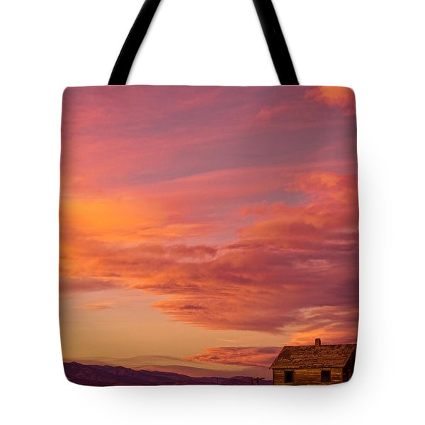 Big Colorful Colorado Sky And Little House On The Prairie Tote Bag by James BO  Insogna