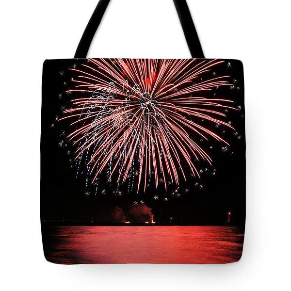 Big Red Tote Bag by Bill Pevlor