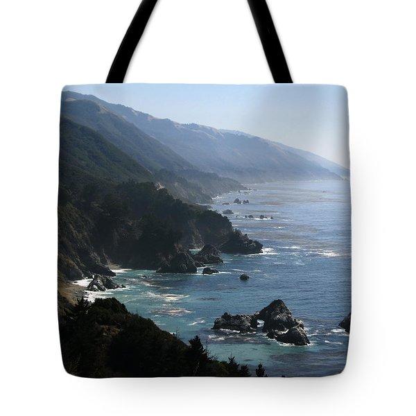 Big Sur Tote Bag by Jan Cipolla