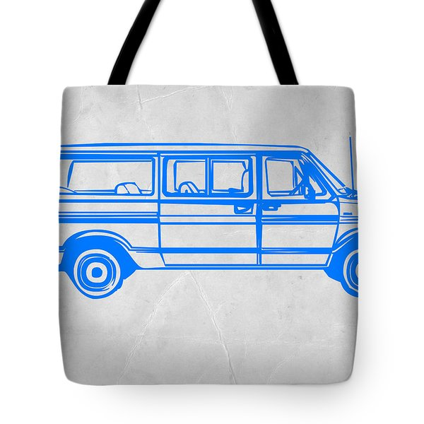 Big Van Tote Bag by Naxart Studio