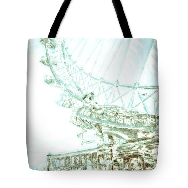 Big Wheel Tote Bag by Tom Gowanlock