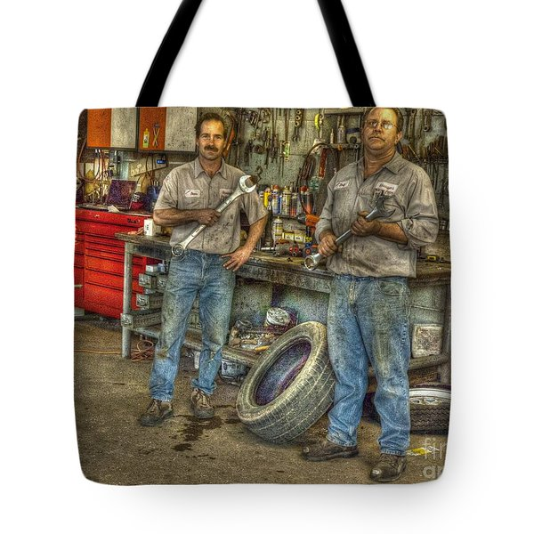 Big Wrenches Tote Bag