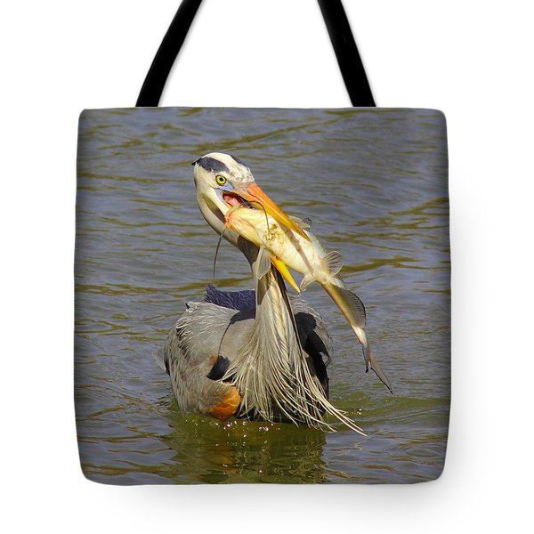 Bigger Fish To Fry Tote Bag