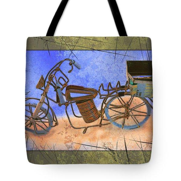 Bike 2a Tote Bag by Mauro Celotti