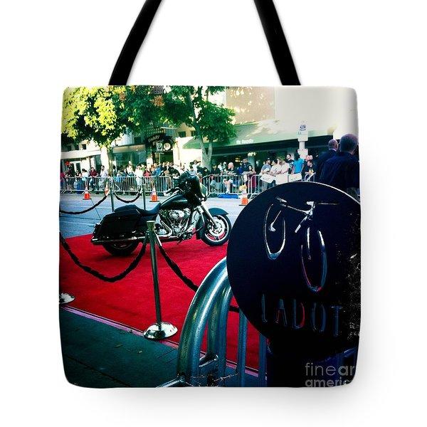 Bike Parking Tote Bag by Nina Prommer